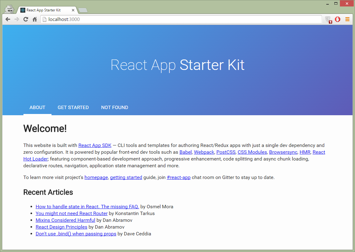 React Redux Projects